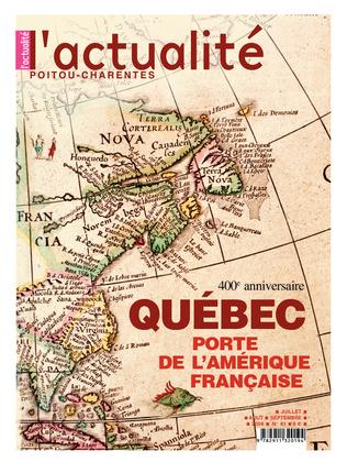 L'Actualité Poitou-Charentes, numéro 81, juillet, août, septembre 2008