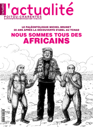 L'actualité Poitou-Charentes, numéro 107, janvier, février, mars 2015.