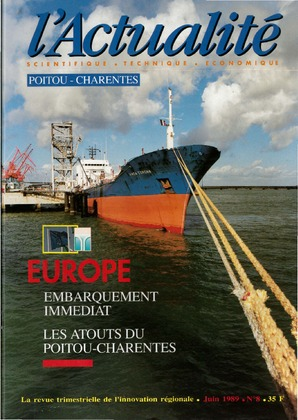 L'Actualité Scientifique, Technique, Économique Poitou-Charentes, numéro 8, juin 1989